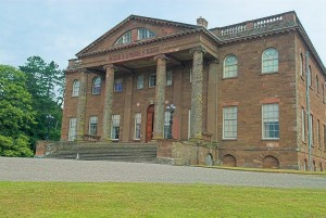 Stock photo of Berrington Hall, Herefordshire. Part of the UK Travel and Heritage Image Library from Britain Express, Herefordshire Collection