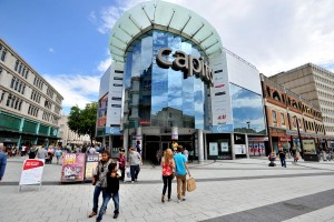 Picture by Peter Bolter.250711 Media Wales  Capitol Shopping centre, Queen Street, Cardiff. The centre is suffering from an economic downturn. Picture by Peter Bolter.